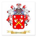 Pitman Square Car Magnet 3