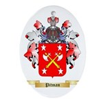Pitman Oval Ornament