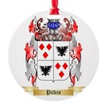 Pitkin Round Ornament
