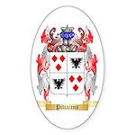 Pitcairns Sticker (Oval 10 pk)