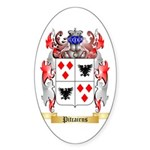 Pitcairns Sticker (Oval 50 pk)