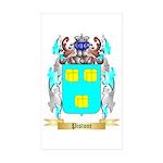 Pistoor Sticker (Rectangle 50 pk)