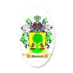 Pissarra Oval Car Magnet