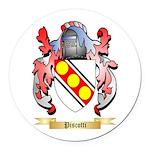 Piscotti Round Car Magnet