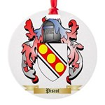 Piscot Round Ornament