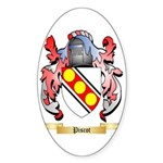 Piscot Sticker (Oval 50 pk)