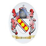 Piscot Oval Ornament