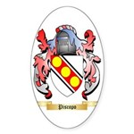 Piscopo Sticker (Oval 10 pk)