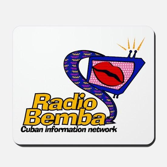 "Radio Bemba ""Big Mouth"" Mousepad"