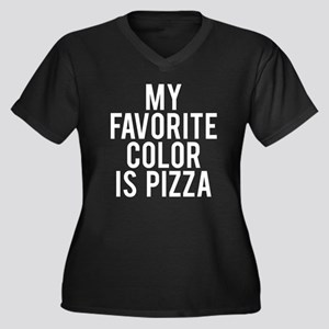 My favorite Women's Plus Size V-Neck Dark T-Shirt