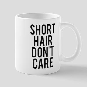 Short hair don't care Mug