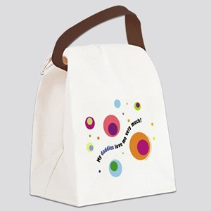 DaddiesLove1 Canvas Lunch Bag