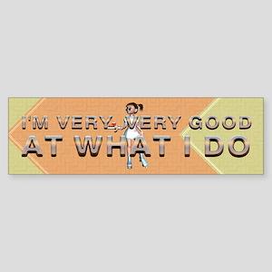 Good Waitress Sticker (Bumper)