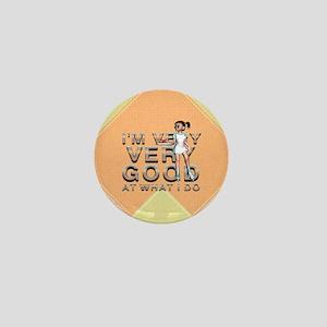 Good Waitress Mini Button