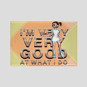 Good Waitress Rectangle Magnet