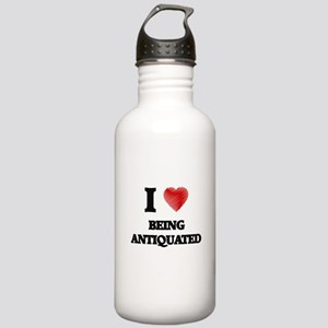 I Love BEING ANTIQUATE Stainless Water Bottle 1.0L
