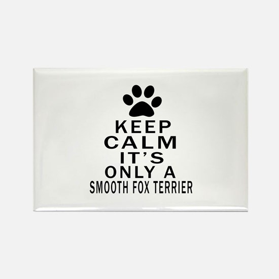Keep Calm And Smooth F Rectangle Magnet (100 pack)
