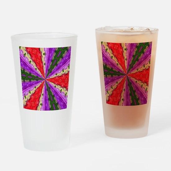Lacey Kaleidoscope Drinking Glass