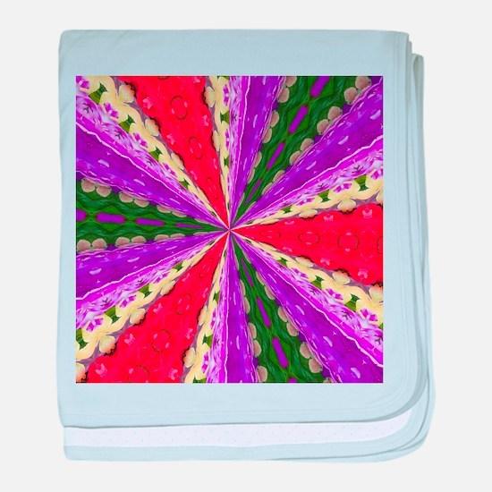 Lacey Kaleidoscope baby blanket