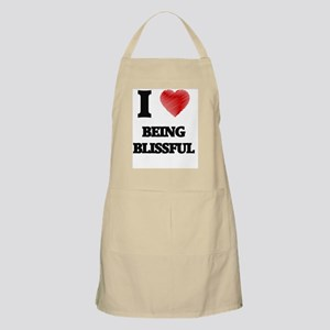 I Love BEING BLISSFUL Apron