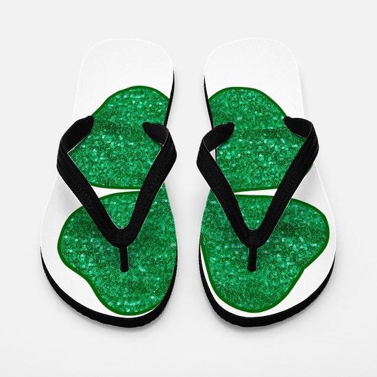 Funny Saint patricks day Flip Flops