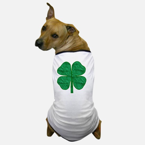 Cute 4 leaf clover Dog T-Shirt