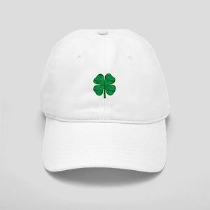 9c3a8654980 4 Leaf Clover Baseball Hats - CafePress