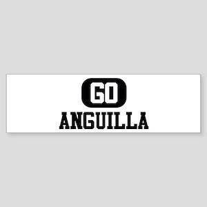 GO ANGUILLA Bumper Sticker