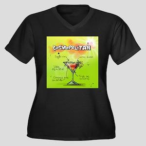 Cosmopolitan (Green) Plus Size T-Shirt