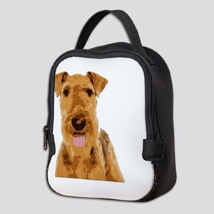Airedales & Friends Gifts Neoprene Lunch Bag