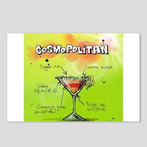 Cosmopolitan (Green) Postcards (Package of 8)