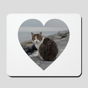 BEACH CAT Mousepad