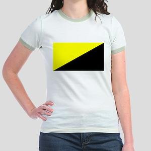 f6ec53846 Anarcho-Capitalist Flag Jr. Ringer T-Shirt