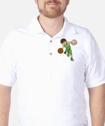 BASKET BOY GREEN Golf Shirt