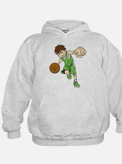 BASKET BOY GREEN Hoodie