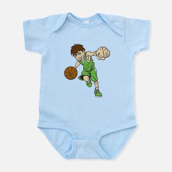 BASKET BOY GREEN Body Suit