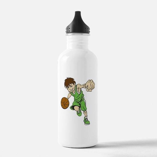 BASKET BOY GREEN Water Bottle