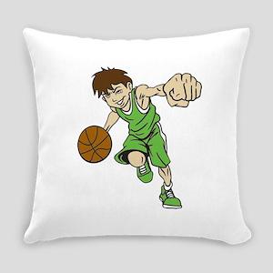 BASKET BOY GREEN Everyday Pillow