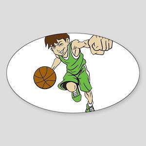 BASKET BOY GREEN Sticker