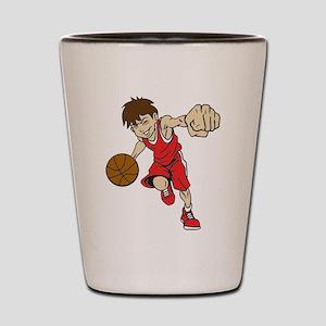 BASKET BOY RED Shot Glass