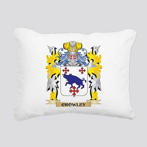 Crowley Coat of Arms - F Rectangular Canvas Pillow
