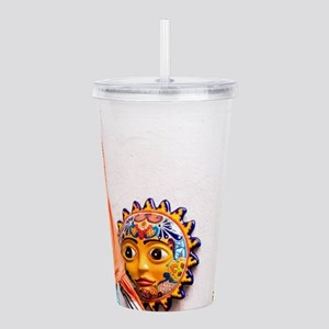 Day of the Dead Altar Acrylic Double-wall Tumbler