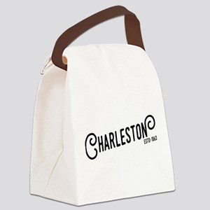 Charleston West Virginia Canvas Lunch Bag