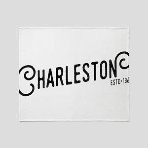 Charleston West Virginia Throw Blanket