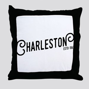 Charleston West Virginia Throw Pillow