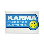 Karma Rectangle Magnet (100 pack)