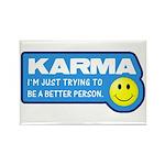 Karma Rectangle Magnet (10 pack)