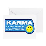 Karma Greeting Cards (Pk of 20)