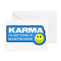 Karma Greeting Cards (Pk of 10)
