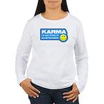 Karma Women's Long Sleeve T-Shirt